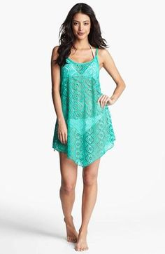Crochet cover-ups in beautiful colors!