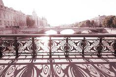 Paris Photography  Pont Notre Dame Bridge Over by GeorgiannaLane, $30.00