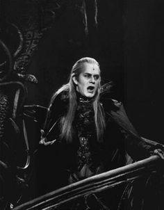 Graf Krolock /Steve Barton sw Foto  Musical Tanz der Vampire
