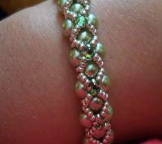 Sparkly Swarovksi Montee Jewelry Tutorials - The Beading Gem's Journal