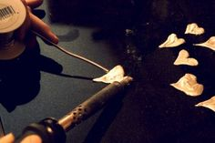 soldering hearts