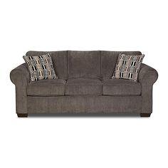 Simmons Upholstery gray lola full-size sleeper sofa $1099 at Sears.