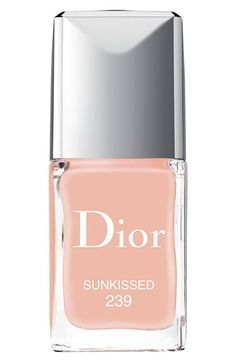 Dior 'Vernis' Gel Shine & Long Wear Nail Lacquer - Sunkissed
