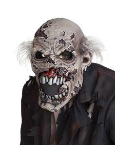 Mascara Zombi Con Boca Movil P/ Halloween Disfraz - $ 750.00 en MercadoLibre
