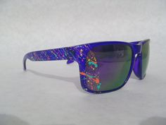The Holcrook sunglasses in Crystal Purple / Turbo by StoopidShades, $20.00