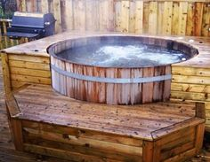 cedar wet hot tub