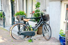 Amsterdam and its bikes - love it! www.aruralchiclifestyle.com Amsterdam Travel, Trips, Bike, Viajes, Bicycle, Traveling, Bicycles, Travel