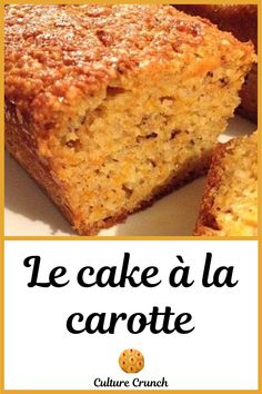 Healthy Carrot Cakes, Carrot Recipes, Easy Cake Recipes, Snack Recipes, Dessert Recipes, Cooking Recipes, Carrots N Cake, Kentucky Butter Cake, Desserts With Biscuits