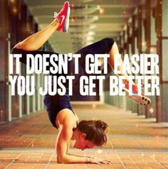 Get Better - Motivational Fitness Quote for Women