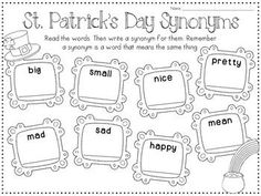 These St. Patrick's Day reading printables are so fun!
