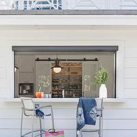 Von Fitz Design - decks/patios - pass through, window pass through, kitchen pass through, patio pass through,  Patio features pass through w...