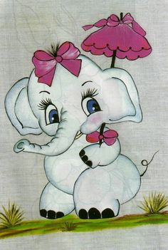 Elefantita blanca