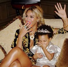 Beyoncé & Blue - this might be one of the cutest/most fabulous mommy n me pics ever ❤️