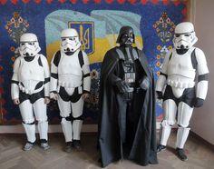 Darth Vader, Chewbacca und Yoda wollen in Kiews Parlament Treten gemeinsam mit Padme Amidala und Imperator Palpadine für die ukrainische Internetpartei an