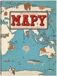 Mapy (oprawa twarda, 108 stron, rok wydania 2015) - Aleksandra Mizielińska, Daniel Mizieliński - Książka - Księgarnia internetowa Bonito.pl