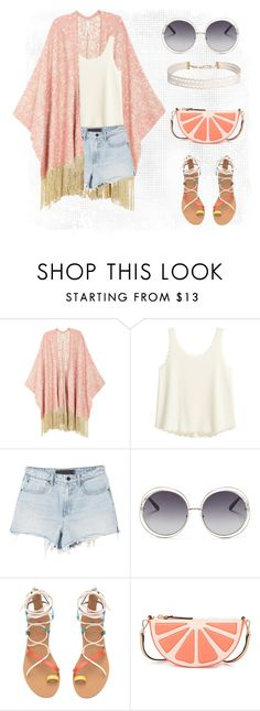 """""""Summer !!"""" by farren-uning ❤ liked on Polyvore featuring Melissa McCarthy Seven7, Chloé, Kate Spade, Humble Chic and plus size clothing"""
