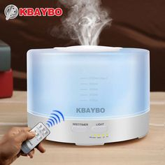 Cheap aroma diffuser, Buy Quality oil aroma diffuser directly from China essential oil aroma diffuser Suppliers: 500ml Remote Control Humidifier Aromatherapy Essential Oil Aroma Diffuser With 7 Color LED Lights