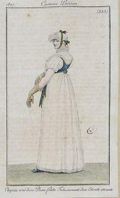 1807 BIBLIOTHÈQUE DES ARTS DÉCORATIFS by SceneInThePast, via Flickr