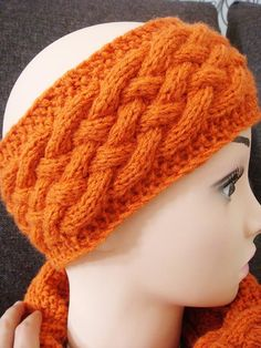Runner's Headband - Worsted weight yarn   easy