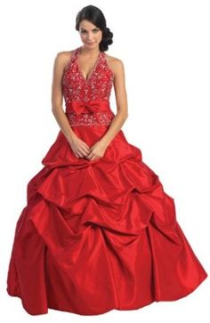 Ball Gown Formal Prom Wedding Dress #2584
