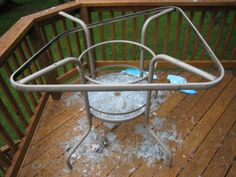 Broken Glass:  Use a wet cotton ball or Q-tip to pick up the small shards of glass you can't see easily, if you have an extra slice of bread, this works well too.