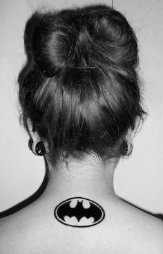 Tattoo #tattoo #ink #tatouage #batman