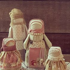 """Народные куклы ручной работы. Ярмарка Мастеров - ручная работа. Купить Народные куколки """"Любимые мои"""", образ семьи.. Handmade."""