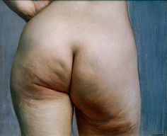 "Felix Vallotton (1865 – 1925). ""Etude de fesses [Study of buttocks]'', c.1884.   Oil on canvas, 38 x 46 cm (15 x 18 in)."