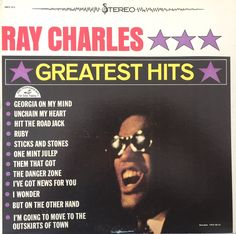 Ray Charles Greatest Hits 1962 Vinyl LP Record Album