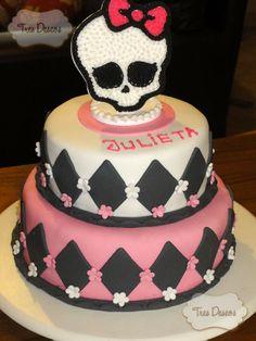 Torta Decorada: Monster High