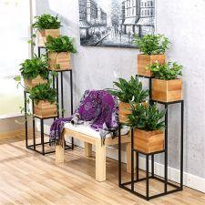 Kwietnik Metalowy Stojak Na Kwiaty Regal Polki Elegancki Ogrodoweoutlet Com Pl Inside Plants Decor Plant Decor Indoor Plant Decor