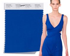 Spring/ Summer 2017 Pantone Colors: Lapis Blue