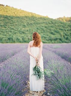 Rows of French Lavender | Kristen Kilpatrick Photography | Love Amongst the Lavender Fields of Provence