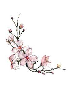 Best Cherry Blossom Tattoo Designs For Women #tattooswomensdesigns
