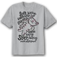 The Big Bang Theory 'Soft Kitty' T-Shirt