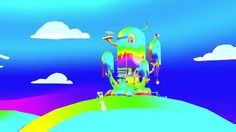Adventure Time Psych Intro. Intro to my Adventure Time episode with a rainbow shader on everything © Cartoon Network etc