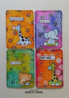 Kunstjournal Inspiration, Art Journal Inspiration, Atc Cards, Paper Cards, Art Trading Cards, Artist Card, Handmade Tags, Marianne Design, Small Cards