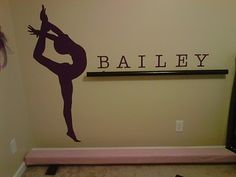 dance room decorations | Dance room ideas.....want this but in gymnastics or basement