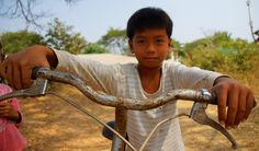 A Khmer boy posing on his bicycle in a rural village outside of Battambang, Cambodia. This is a travel photo from Battambang, Cambodia. Battambang Cambodia, Cambodia Travel, Siem Reap, Phnom Penh, Angkor, Travel Photos, Travel Inspiration, How To Memorize Things, Bicycle