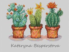 """Cross stitch design """"Almost perfect cactus"""" Designer – Besperstova Katerina The size of the embroidery: crosses Number of colors: 33 basic colors and Cactus Cross Stitch, Cross Stitch Pillow, Stitch Book, Cute Cross Stitch, Counted Cross Stitch Patterns, Cross Stitch Charts, Cross Stitch Designs, Diy Embroidery Machine, Cactus Embroidery"""