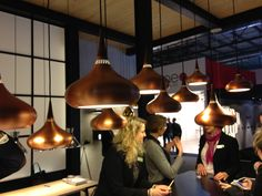 The 2013 Salone del Mobile in Milan. From Danish Light Year´s booth...an old but yet beautiful reproduction of the Orient Pendant. http://www.designdelicatessen.com/products/223-lightyears/6046-lightyears---orient-pendant/