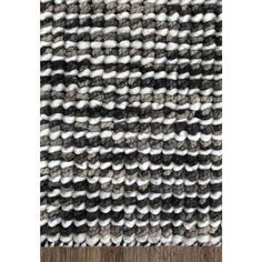 Bayliss Rugs Barossa Hand Woven Wool Floor Area Rug 200cm x 300cm Riverstone Grey Hand Weaving, Area Rugs, Flooring, Create, Home Decor, Hand Knitting, Rugs, Decoration Home, Room Decor