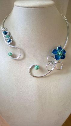 Wedding jewelry Bridesmaids jewelry Flowers by LesBijouxLibellule