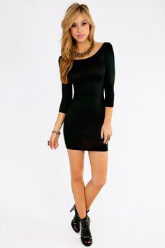 Slim package hip backless dress