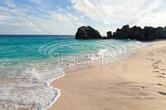Bermuda Warwick Long Bay Beach Stock Photo near Jobsons Cove Fun Questions To Ask, This Or That Questions, Beaches In The World, Caribbean Sea, Romantic Getaways, Cruise Vacation, Most Romantic, Island Life, Beach Photos