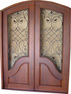 Why Replace your Standard Exterior Doors with Mahogany Hurricane Approved Entry Doors? Miami-Dade Approved Mahogany Impact Exterior Wood Doors are the way to go and why you should replace your standard front doors. Glass Front Door, Glass Door, Entry Doors, Wood Doors, Wood Exterior Door, Other Rooms, Wrought Iron, Future House, Metal Working