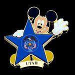 Disney Trading Pins - 100 Years of Dreams - Pin #100 - Utah Disney http://www.amazon.com/dp/B00TCSW6DA/ref=cm_sw_r_pi_dp_PLsIvb0DXESCZ