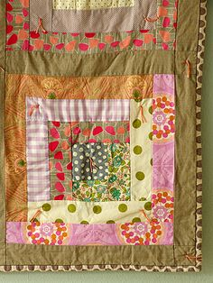 Spring Blossoms Quilt for Quake Survivors {another lovely by Alicia Paulson}