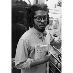 """Subway Book Review from NYC: #repost Because this fellow book lover is taking it to the next level @kamauware @blackgotham Kamau: """"I give walking tours on the impact of the African diaspora in New York City and am creating a comic book about black history in the city. I've read this book at least four times. I sound like such a book slut saying that. Jill Lepore is a great writer. She gives the reader so many details: how cold it was what animals were around what the smells were. The story…"""