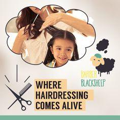 We bring the best hairdressing for your kids.  Visit: barberblacksheep.in/ #barber #barbershopconnect #barbershop #hairstyles #babyhair #babyhaircut #kidhaircut